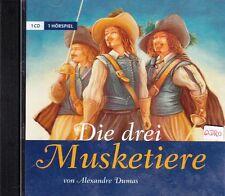 Die drei Musketiere + CD + Spannendes Hörspiel von Alexandre Dumas + NEU +