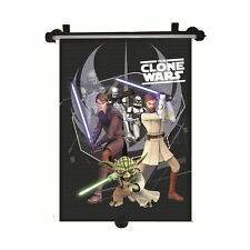 CAR Sun Shade Rullo Finestra Cieca Per Bambini Disney STAR WARS CLONE WARS