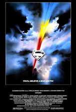 SUPERMAN: THE MOVIE Movie POSTER 27x40 Christopher Reeve Margot Kidder