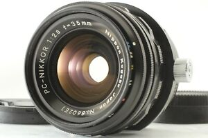 [MINT] Nikon PC Nikkor 35mm f/2.8 MF Perspective Control Shift Lens From JAPAN