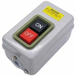 Home Switch On Off Start Stop Push Button Single Phase Motor Electric 220V /380V