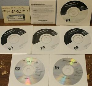 4 HP DC5000 Restore Plus & 2 Windows XP Professional,6 New CD lot & Motherboard