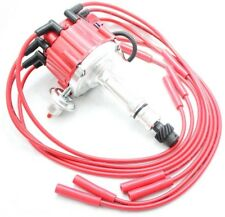 HEI Distributor Coil 8.5mm Spark Plug Wires 64-74 Oldsmobile 330 350 400 425 455