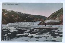 Postcard Taku Glacier Alaska AK