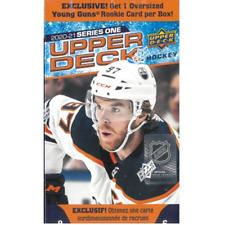 2020-21 Upper Deck Series 1 Oversized Hockey Blaster Box