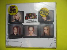 GIRLS ALOUD-SOUND OF THE UNDERGROUND. 3 TRACK CD SINGLE. POP DISCO DANCE.