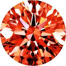 Parcel Natural Super Fine Burnt Orange Sapphire Melee - Round - AAAA Grade