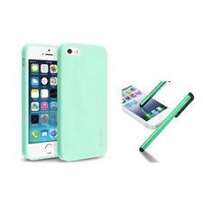 Fundas Para iPhone 5 color principal verde para teléfonos móviles y PDAs