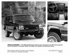 1988 Jeep Cherokee Limited Press Photo with Text 0008