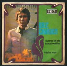 """Eric Charden : Le monde est gris le monde est blue - vinile 45 giri / 7"""" - 1968"""