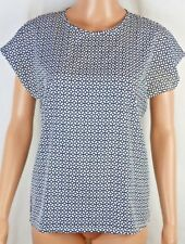 Boohoo Oversized Shirt ~ Ladies UK 8 ~ Geometric Pattern Work Career Casual