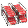Food Can Rack Holder Kitchen Pantry Organizer Soup Beer Soda Coke Storage Shelf