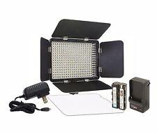 Vidpro LED-330X Varicolor Studio Video Lighting Kit with Barn Doors & Diffuser