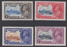 More details for gilbert & ellice island gv mint 1935 silver jubilee set sg36-39 mnh
