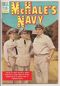 McHALE'S NAVY # 2   DELL COMICS 1963  HIGHER GRADE COPY  GLOSSY, BRIGHT & CLEAN