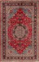 BLACK FRIDAY Floral Oriental Wool Area Rug Traditional Hand-Knotted Carpet 7x10