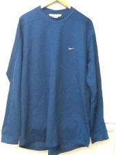 Nike Mens Blue Shirt Xl Long Sleeve Top Athletic Pullover Crew Neck Pullover