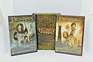 Lord of the Rings bulk DVDs pkt. The two towers, The return of the king, Fellows
