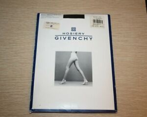 GIVENCHY Hosiery Body Smoothers 515 Medium Support JET BLACK Size B VTG NIP
