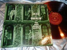 JAZZ AT OBERLIN THE DAVE BRUBECK QUARTET FANTASY 3245 RED LP VG-EX/VG
