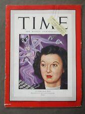 Vintage Time Magazine January 28 1946  Author Craig Rice cover