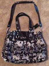 Pre-Owned Great Condition - Coach Ashley Carryall purse # G1051-F15656