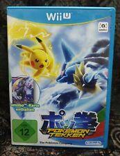 WiiU Spiel Pokémon Tekken ohne Anleitung guter Zustand + OVP
