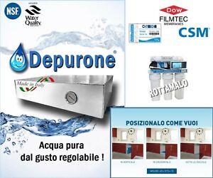 Depuratore Purificatore Acqua Ciclo Continuo MADE ITALY