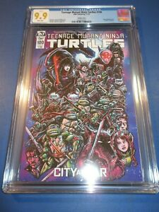 Teenage Mutant Ninja Turtles #100 Variant CGC 9.9 Gorgeous Mint Gem Wow Not 9.8