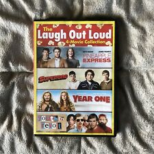 Laugh Out Loud 4 movie (Pineapple Express, Superbad, Year One, Youth in Revolt)
