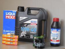 Sistema de Mantenimiento Honda Goldwing 1800 Filtro de aceite bujía Servicio
