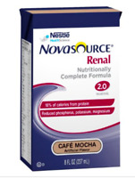 Novasource Renal Formula, MOCHA, 8 Ounce, Nestle 00043900291222 - Case of 27 NEW