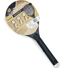 Electric Insect Killer Mosquito Fly Swatter Bug Zapper Handheld Tennis Racket