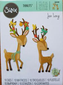 'Christmas Deer'  10 dies  RP £11.99 Sizzix # 664448