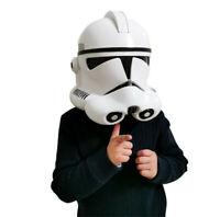 Star Wars Helmet Cosplay White Imperial Stormtrooper Helmet Halloween Mask