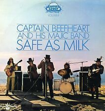 "CAPTAIN BEEFHEART ""SAFE AS MILK"" ORIG FR 1970 DIFF. COVER VG++/EX"