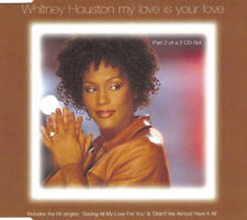 WHITNEY HOUSTON MY LOVE IS YOUR LOVE CD2 3 TRACK CD SINGLE FREE P&P