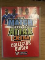 MATCH ATTAX EXTRA 2007/08 FULL SET OF ALL 102 CARDS IN BINDER
