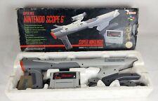 SCOPE 6 PAL Version Super for NES Nintendo NIB Retro SNES Authentic Japan Gun