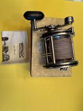 Vintage IMMEC 240-D Level Wind Salt Water Reel Star Drag NOS Box & Instructions