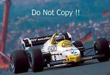 Keke Rosberg Williams FW09B Dutch Grand Prix 1984 Photograph 1