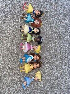 Girls Disney Princess Mini Figures/dolls X8