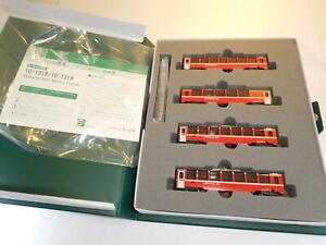 ++ Spur N KATO 10-1319 4teiliges Wagenset Bernina Express Schweiz Rhätisch NEU