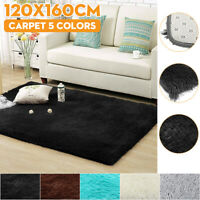 Fluffy Shaggy Floor Rug Carpet Large Area Rugs Living Room Mat Bedroom Soft Mats