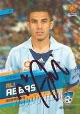 ✺Signed✺ 2013 2014 SYDNEY FC A-League Card ALI ABBAS