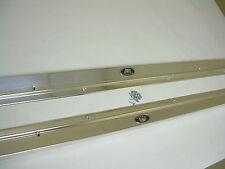 1962 1963 1964 1965 1967 Nova Door Sill Scuff Plates Pair 2 Door X-Body Chevy II