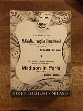 "SPARTITO JOE ""MAMMA.. VOGLIO IL MADISON!"" + SANDLER ""MADISON IN PARIS"""