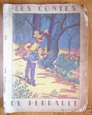 LES CONTES DE PERRAULT illust. Calvet - Rogniat 1947