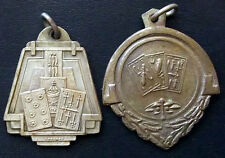 "URUGUAY LOT X 2 NAIPES ""TRUCO"" ART DECO ANTIQUE AWARD MEDALS""TRUCO"" TYPICAL GAME"