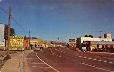 Springerville Arizona Street Scene Store Fronts Vintage Postcard K50961